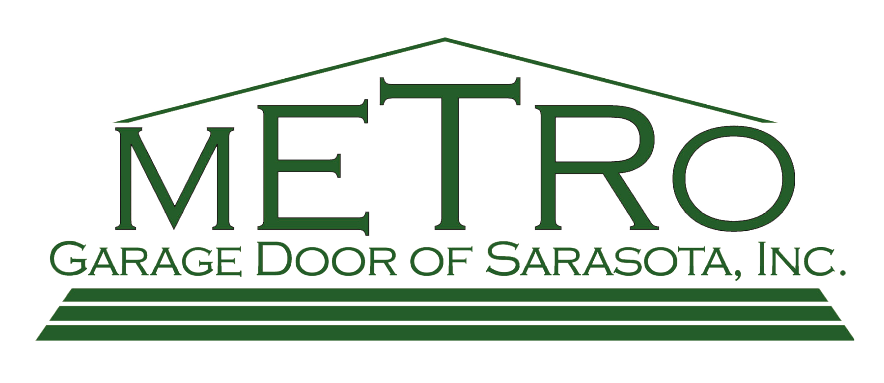 Metro Garage Door of Sarasota Logo